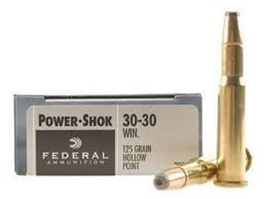 Federal Power Shok 30-30Win 125gr HP x20 3030C