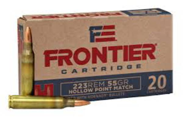 Hornady Frontier 223Rem 55gr HP