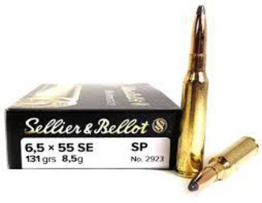 Sellier & Bellot 6.5x55 131gr SP x20