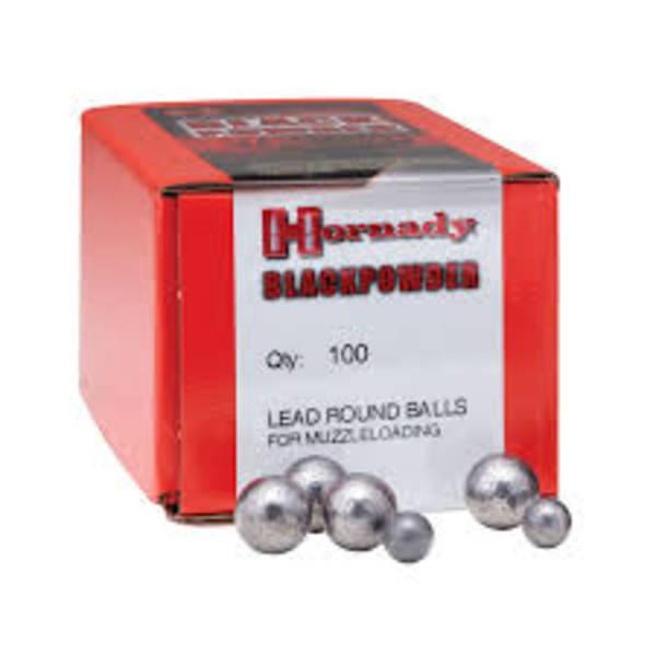 Hornady 54cal .535 Round Balls 100's #6110
