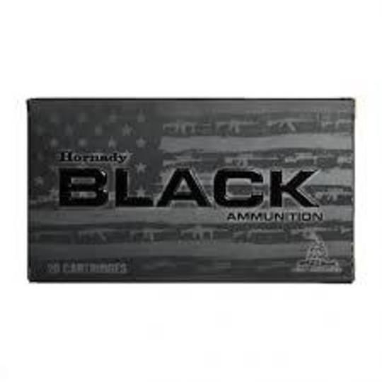 Hornady Black 223rem 5.56 Nato 75gr Interlock x20