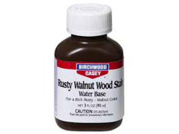 Birchwood Casey Rusty Walnut Wood Stain 3oz