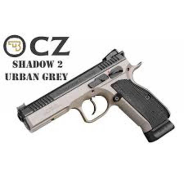 CZ 75 Shadow 2 Urban Grey 9mm Luger