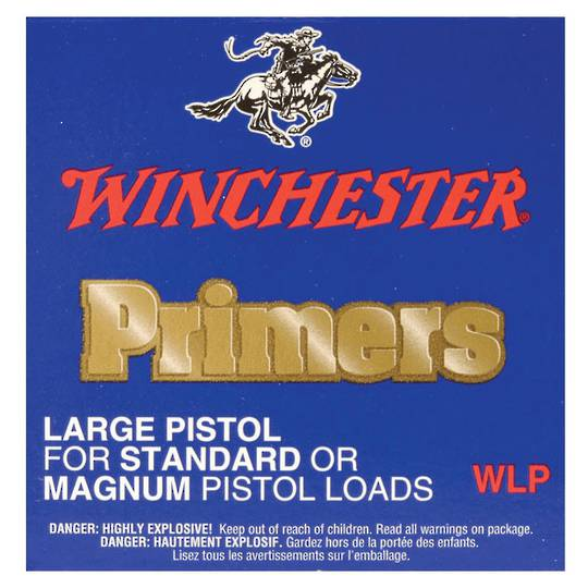 Winchester Large Pistol Primers Box of 1000