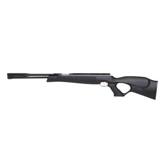 Weihrauch HW97BL .22 Synthetic Blued Thumbhole Stock