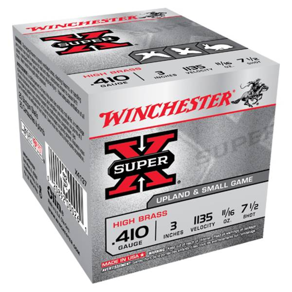"Winchester SuperX 410 3"" #7 19gm (25rds)"