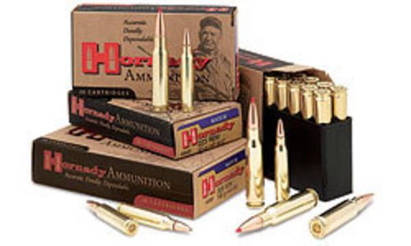 Hornady Match Ammunition 308 Win 168gr BTHP 8097
