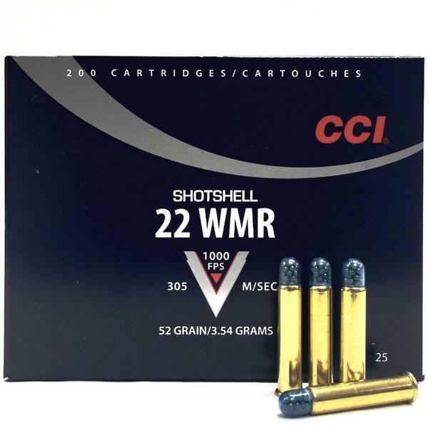 CCI 22WMR Shotshell 20 Rounds