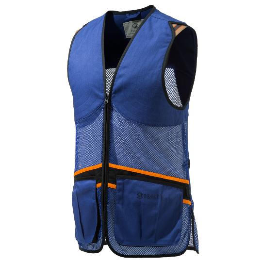 Beretta Full Mesh Vest Blue 2XL