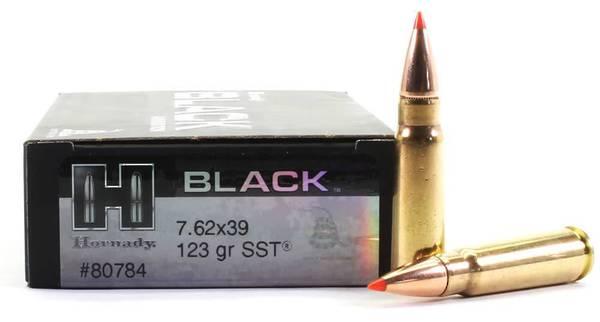 Hornady Black 7.62x39 123gr SST x20 #80784
