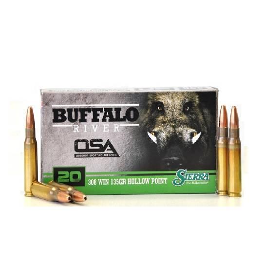 Buffalo River 308win 135gr HP x20 Rounds