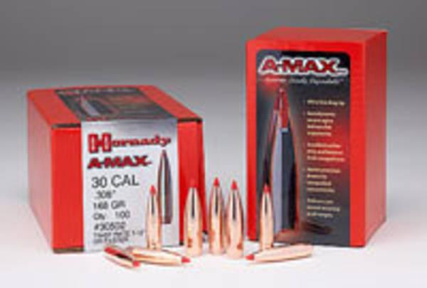 Hornady A Max 30cal 168gr 30502