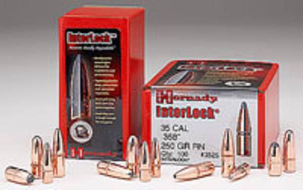 "Hornady Interlock 30cal .308"" 220grn RN 3090"