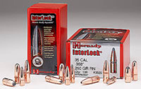 Hornady 348 Cal .348 200gr InterLock® FP 3410 Box of 100