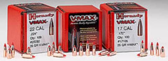 Hornady VMax Varmint 22cal 55gr 22271