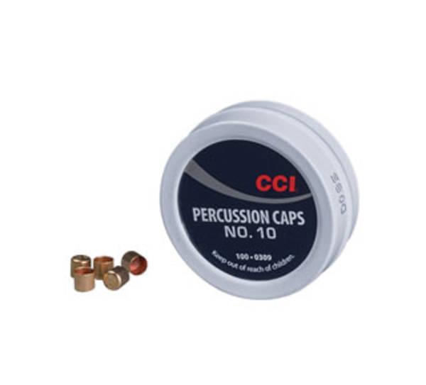 CCI #10 Percussion Caps x100