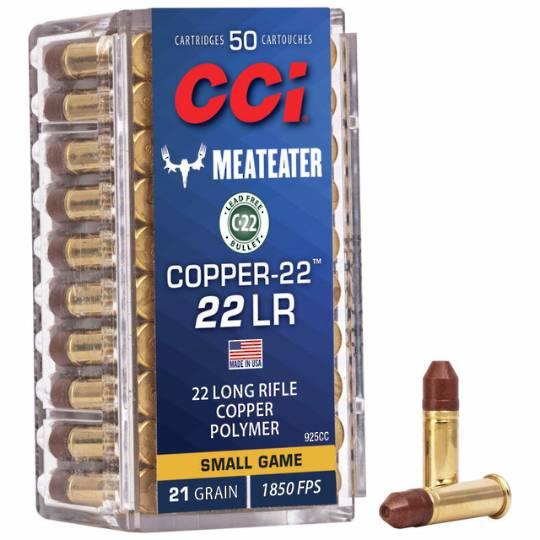 CCi 22lr Copper 21gr HP x50