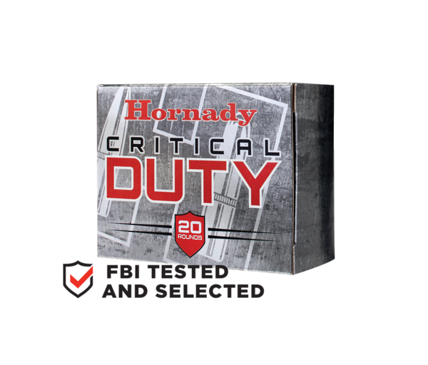 Hornady Critical Duty 9mm 115gr FTX x25 #90250