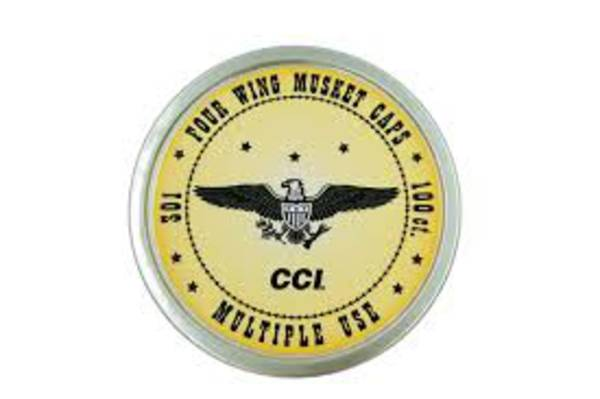 CCI Four Wing Musket Caps x100