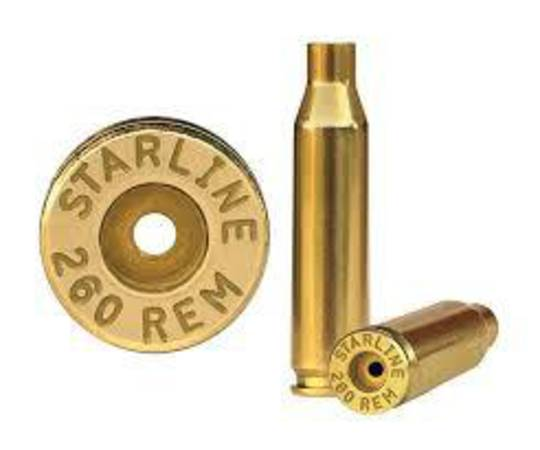 Starline Brass 260Rem x100