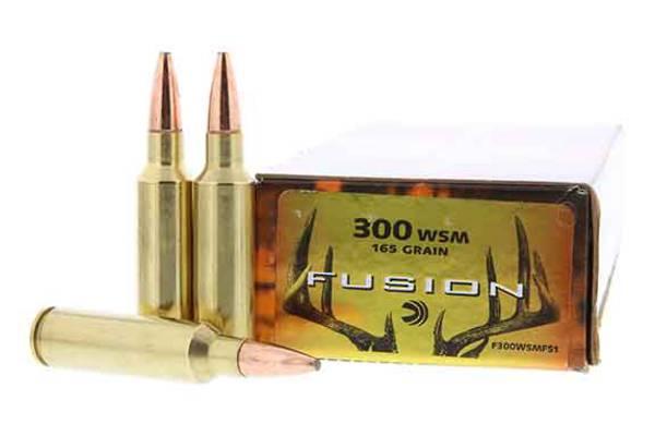 Federal Fusion 300 WSM 165gr