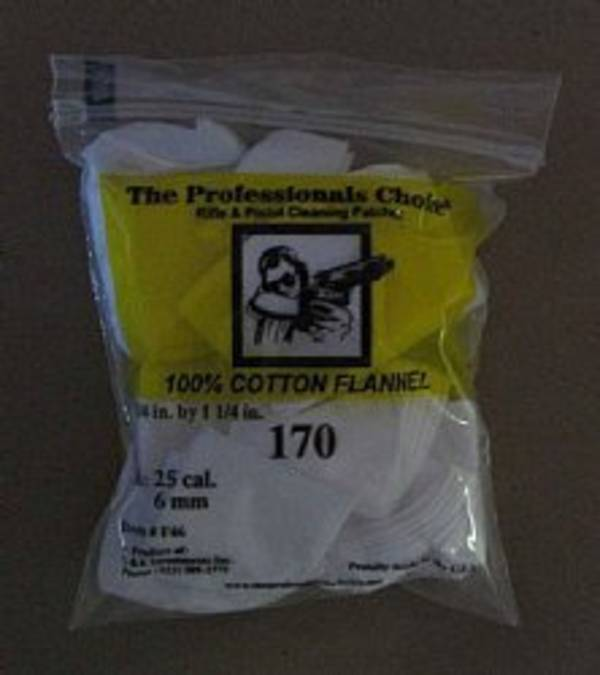 Professionals Choice Cleaning Patched 270 cal 7mm