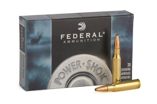 Federal Power Shok 223 Remington 55gr Soft Point 20 Rounds