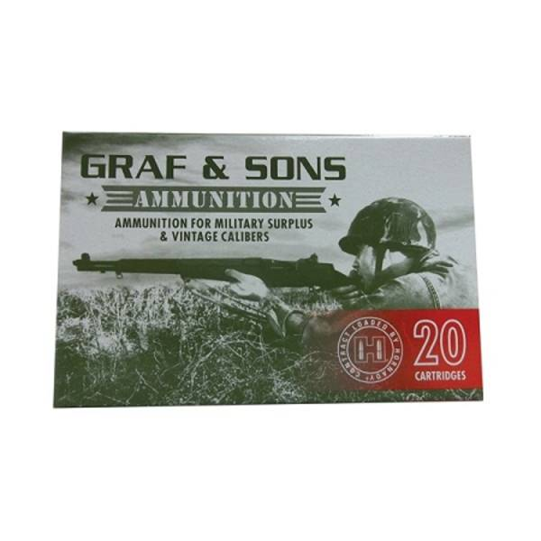 Graf & Sons 6.5x54 Mann 140gr SP #80496