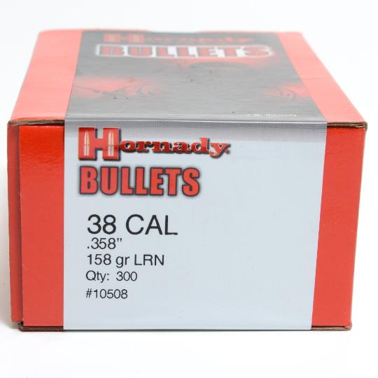 Hornady 38Cal 158gr LRN Lead x300 #10508