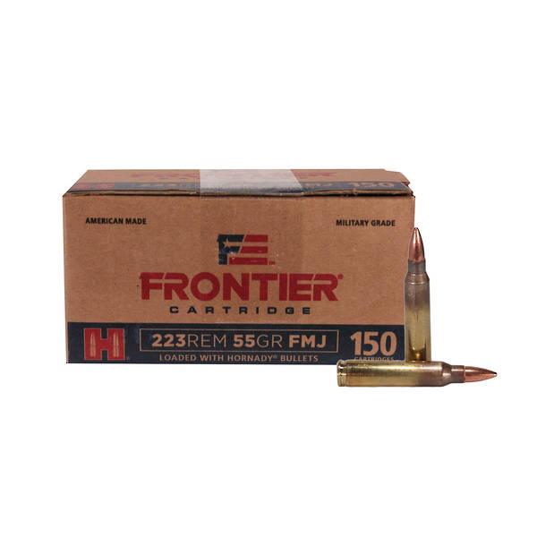 Hornady Frontier Ammunition 223Rem 55gr SP x150