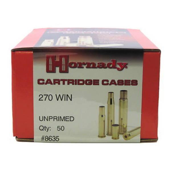 Hornady Brass Cases 270win x50