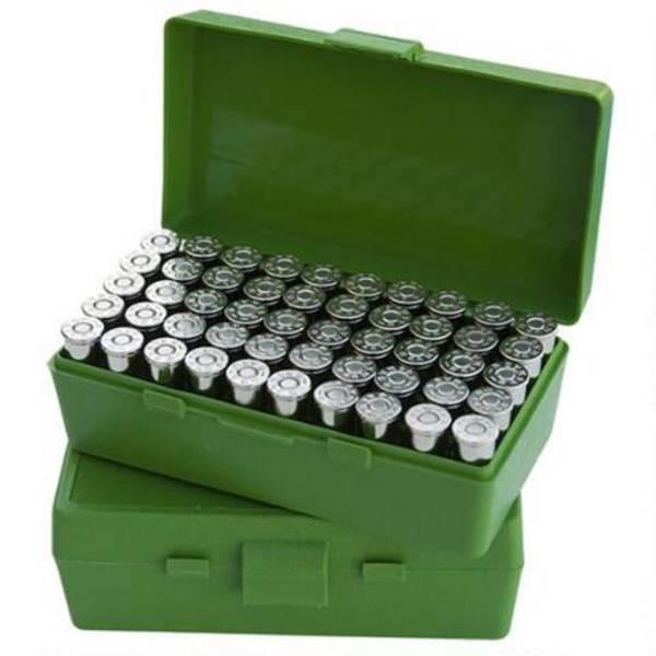 MTM Pistol Ammo Box P50-44-10