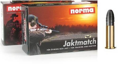 Norma Jaktmatch 22LR Training Ammo  50 rds