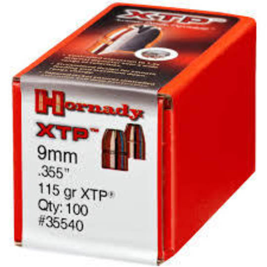 Hornady 9mm .355 115gr XTP