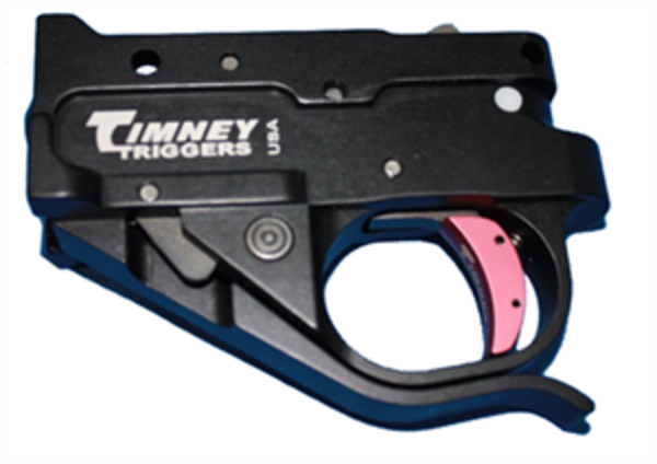 Timney 10/22 Drop In Trigger Black Silver Shoe 122-6C