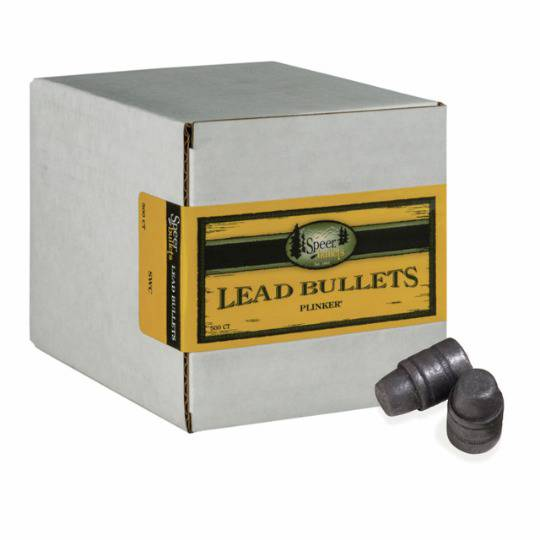Speer 38cal/357 158gr Lead SWC HP Plinker (500 Value Pack) #4628