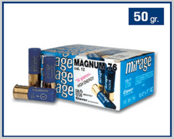 12ga Clever Mirage Magnum 76 50 gram #0