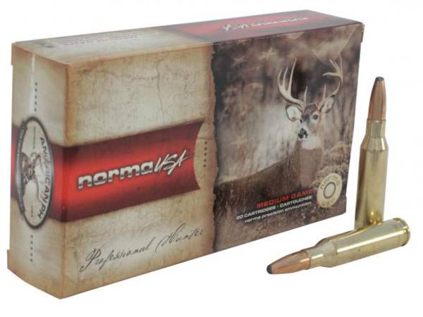 Norma Ammunition 22-250 50gr  V-Max x20