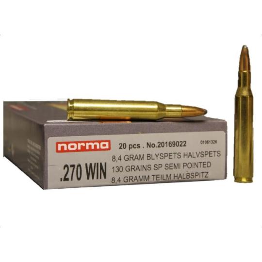 Norma Ammunition 270 Win 130gr SP x20