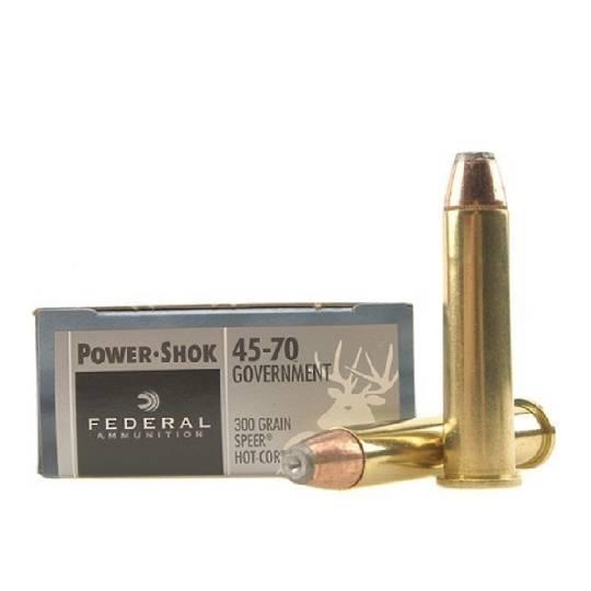 Federal Power Shok 45-70 300gr SP x20