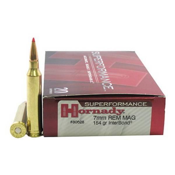 Hornady Superformance 7mmRM 154gr Interbond x20 #80628