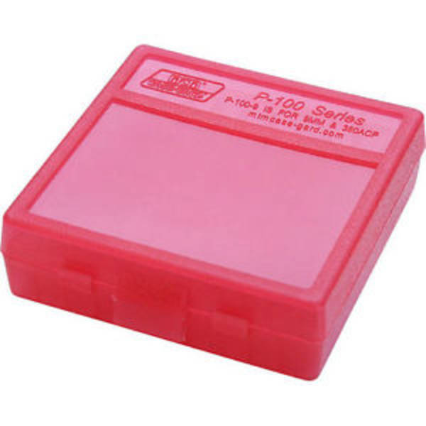 MTM P-100-9-29 Red Ammo Box