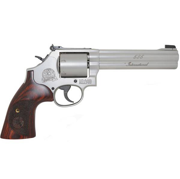 """Smith & Wesson 686 International Stainless 357Mag 6"""""""