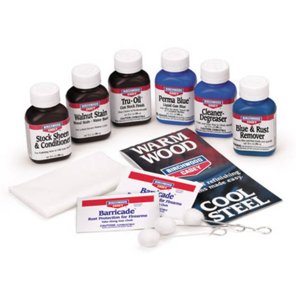 Deluxe Perma Blue Liquid Gun Blue Tru-Oil Gun Stock Finish Kit