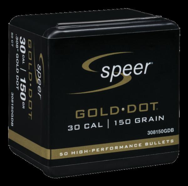 Speer Gold Dot 30Cal 150gr x50 #308150GDB