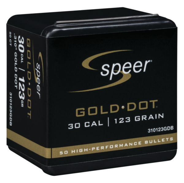 Speer Gold Dot 7.62x39 123gr x50 .310 #310123GDB
