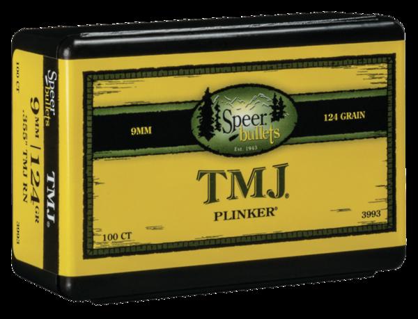 Speer 9mm 124gr .355 TMJ RN