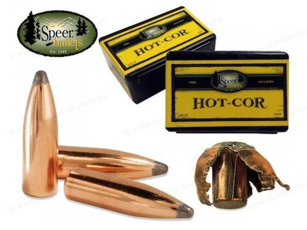 Speer 30cal/308 170gr Hot-Cor FN (100 box) #2041