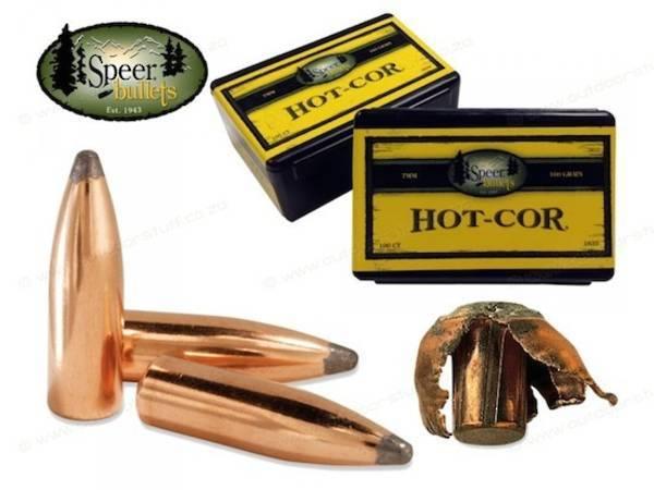 Speer 284/7mm 160gr Hot-Cor Spitzer SP (100 box) #1635