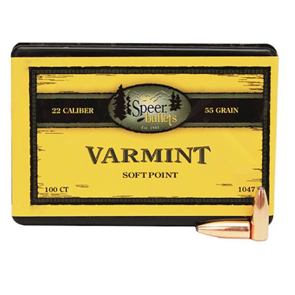 """Speer Varmint .224"""" 50gr SP 1029"""